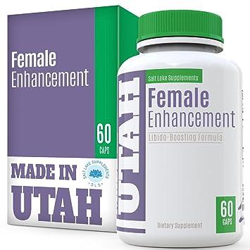 Female Enhancement Natural Libido Boosting Formula - with Vitamins, Minerals and Tribulus, Epimedium,