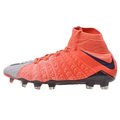 86483243762 Nike Women s Hypervenom Phantom III Dynamic Grey Purple Dynasty Max Orange  Soccer Shoes -
