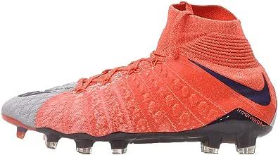 Nike Women's Hypervenom Phantom III Dynamic Grey/Purple Dynasty/Max Orange Soccer Shoes