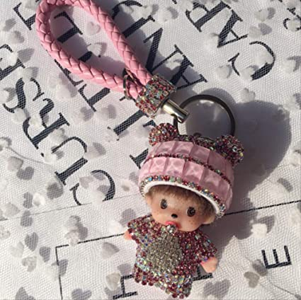 hokkk Auto Key Buckle Femenino Personalidad Creativa Novia ...