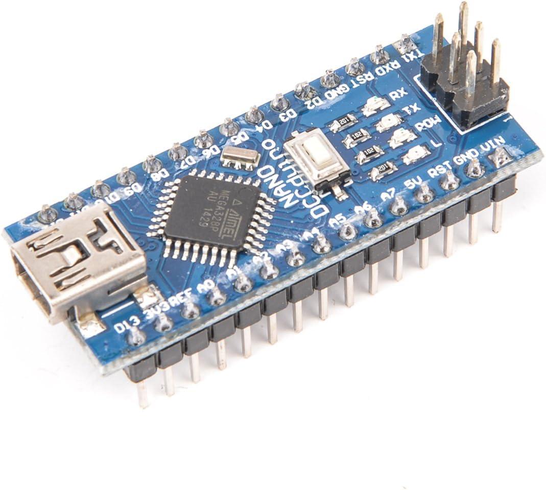YOUMILE Mini USB Nano V3.0 Módulo ATMEGA328P CH340G 5V 16M Placa de microcontrolador para Arduino: Amazon.es: Electrónica