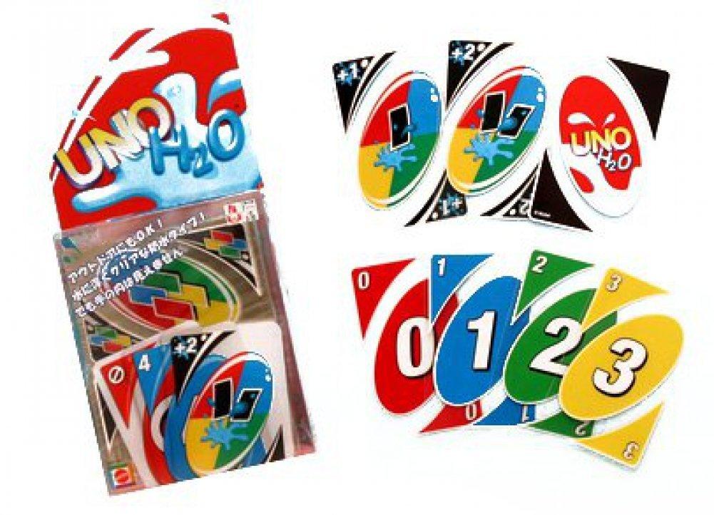 マテル『H2O ウノ カードゲーム』