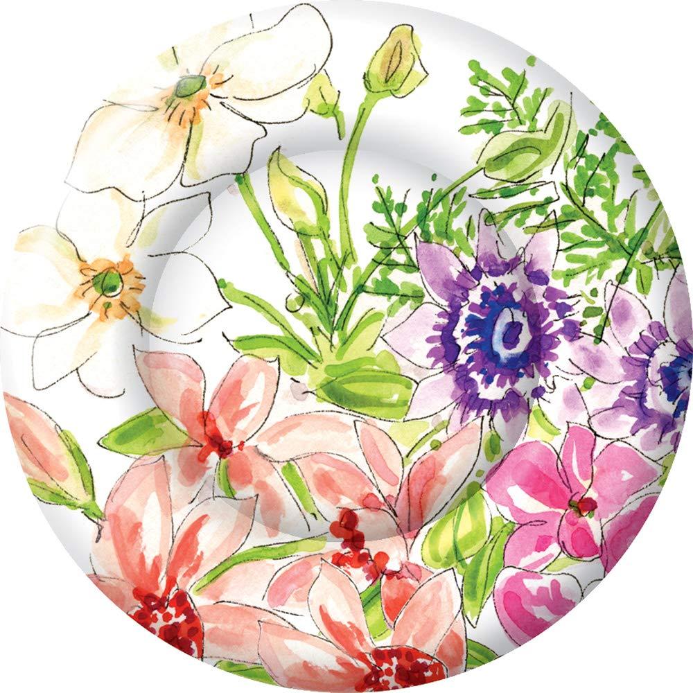 Abstract Pink Flowers Corner Stockfotos und -bilder Kaufen - Alamy