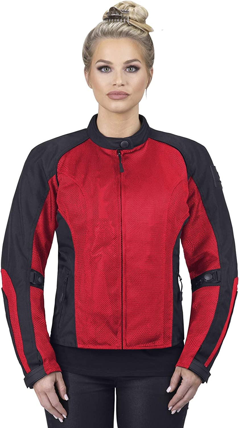 Viking Cycle Motorcycle Jackets for Women Viking Cycle Warlock Women's Mesh Motorcycle Jacket