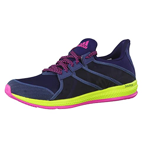 detailed look 2fd67 a3781 adidas Women s s Gymbreaker Bounce W Running Shoes Black Blue Pink  (Maruni Azumin