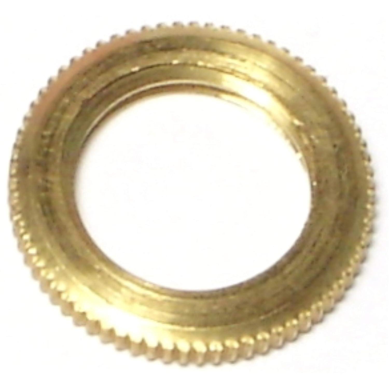 Hard-to-Find Fastener 014973141721 Knurled Locknuts, 1/8 IP x 3/4, Piece-15