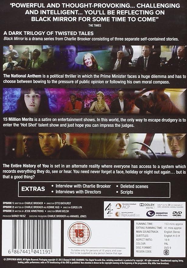 Charlie Brooker's Black Mirror - Series 1: Amazon ca: DVD