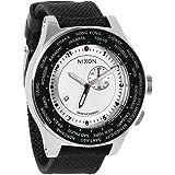 【ニクソン】 NIXON 腕時計 PASSPORT: WHITE/SILVER/NAVY NA3211433-00 【並行輸入品】 A3211433 A321-1433 パスポート: ホワイト/シルバー/ネイビー