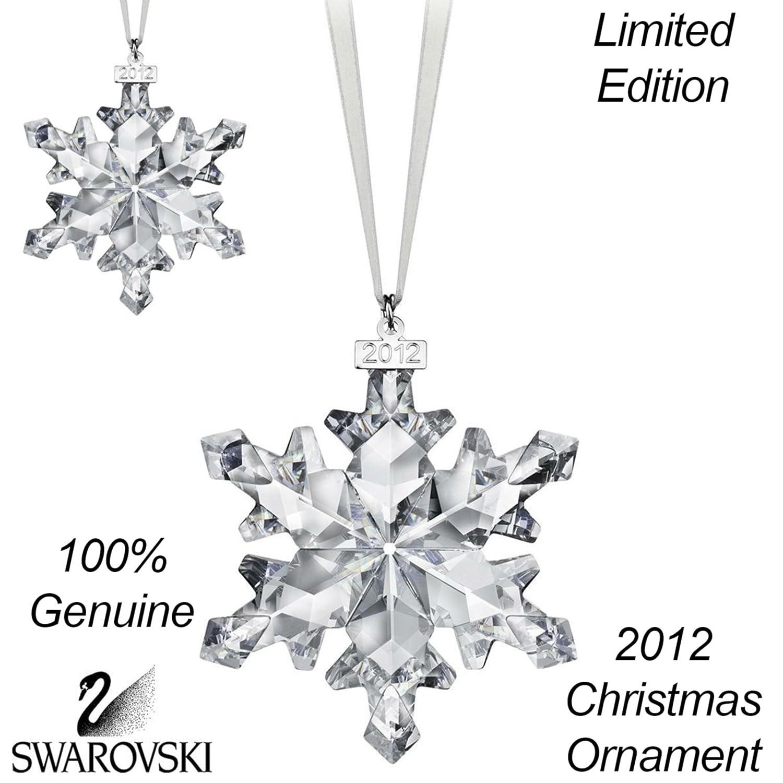 2012 Christmas Ornament Star  Crystal  By Swarovski  Annual Edition  2012: Amazon: Kitchen & Home