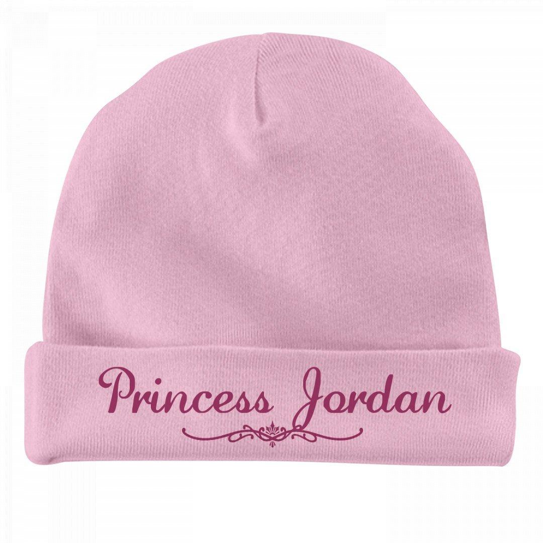 FUNNYSHIRTS.ORG Princess Jordan Newborn Gift: Infant Baby Hat