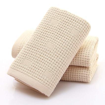 BiAnHua Toalla Absorbente Suave y cómoda de Viaje Gasa Doble portátil antibacteriana Suave Absorbente de algodón