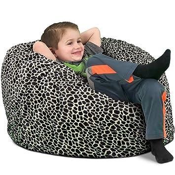 Surprising Ultimate Sack Kids Sack Bean Bag Chair Giant Foam Filled Evergreenethics Interior Chair Design Evergreenethicsorg