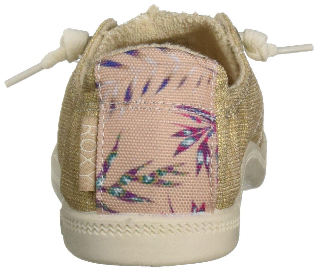 Roxy Women's Bayshore Slip on Shoe Sneaker B075TS8WYS 6.5 B(M) US|Champagne