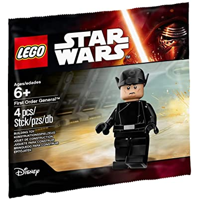 LEGO Star Wars The Force Awakens First Order General 5004406: Toys & Games