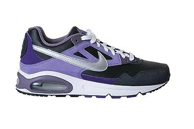 separation shoes 0a90c 15926 NIKE Air Max Skyline Schwarz Lila Silber Leder Sneaker Size 42.5 EU