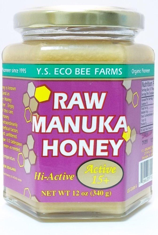 Raw Manuka Honey YS Eco Bee Farms 12 oz Paste (Pack of 2)