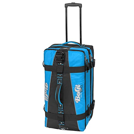 Bogi Bag Travel Suitcase Duffle Bag/Trolley 68 cm blue black 85 Liters 3 packing areas fu1Rh