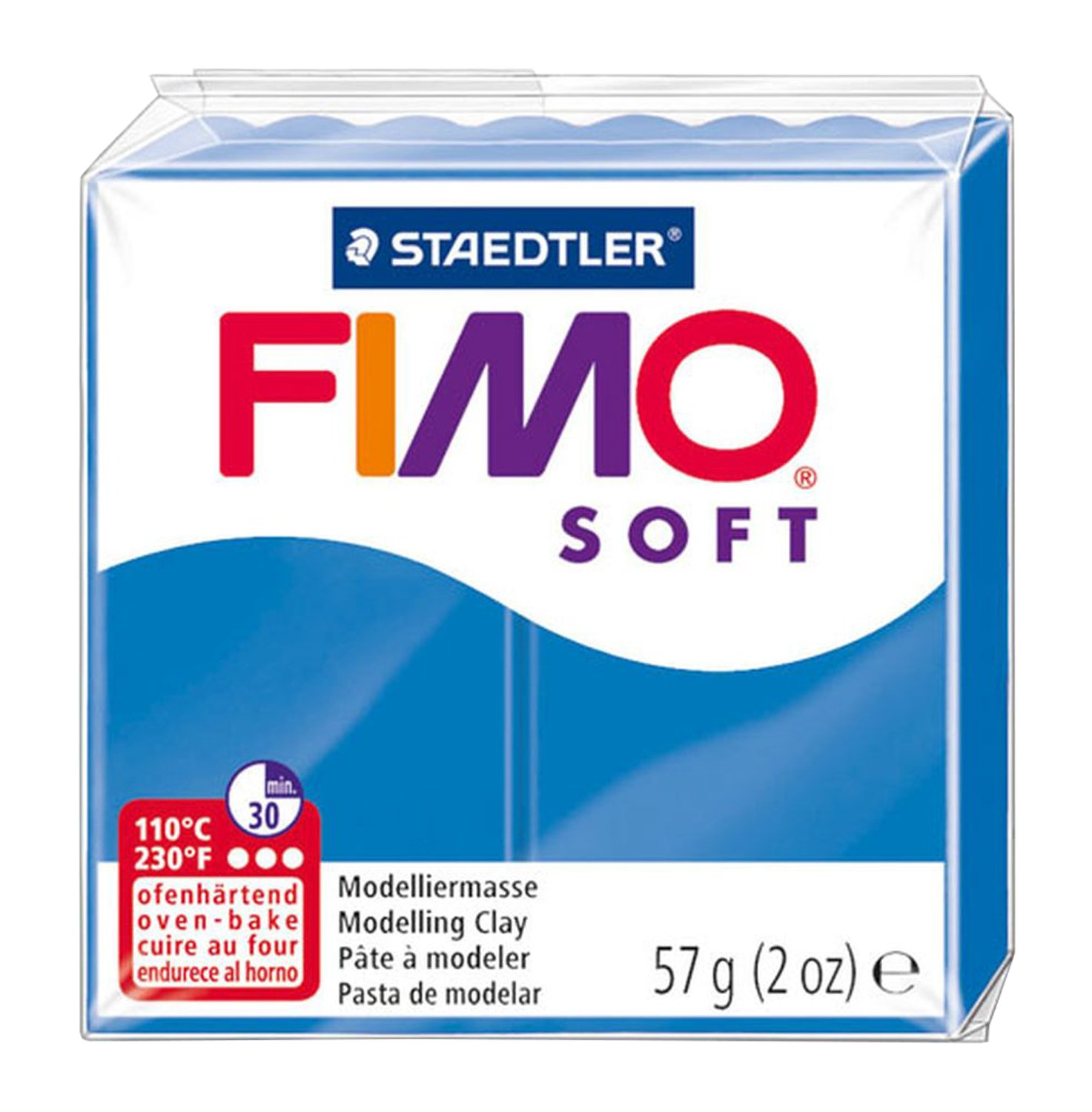 Fimo Soft Modelling Clay, Tangerine, 350 g Staedtler 8022-42 ST 7571