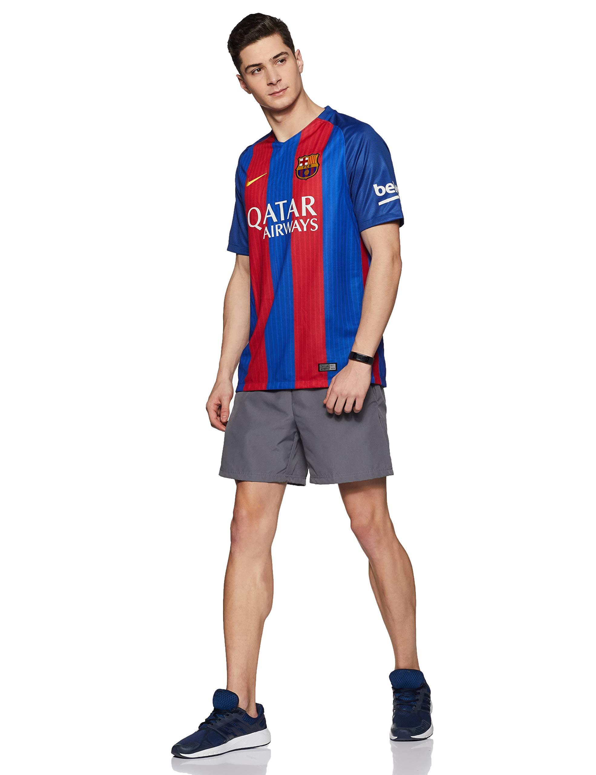 estoy enfermo motivo Literatura  Nike FC Barcelona M SS HM Stadium Jsy – Men's Short-Sleeved T-Shirt blue  Azul- Buy Online in Bahrain at bahrain.desertcart.com. ProductId : 54133639.