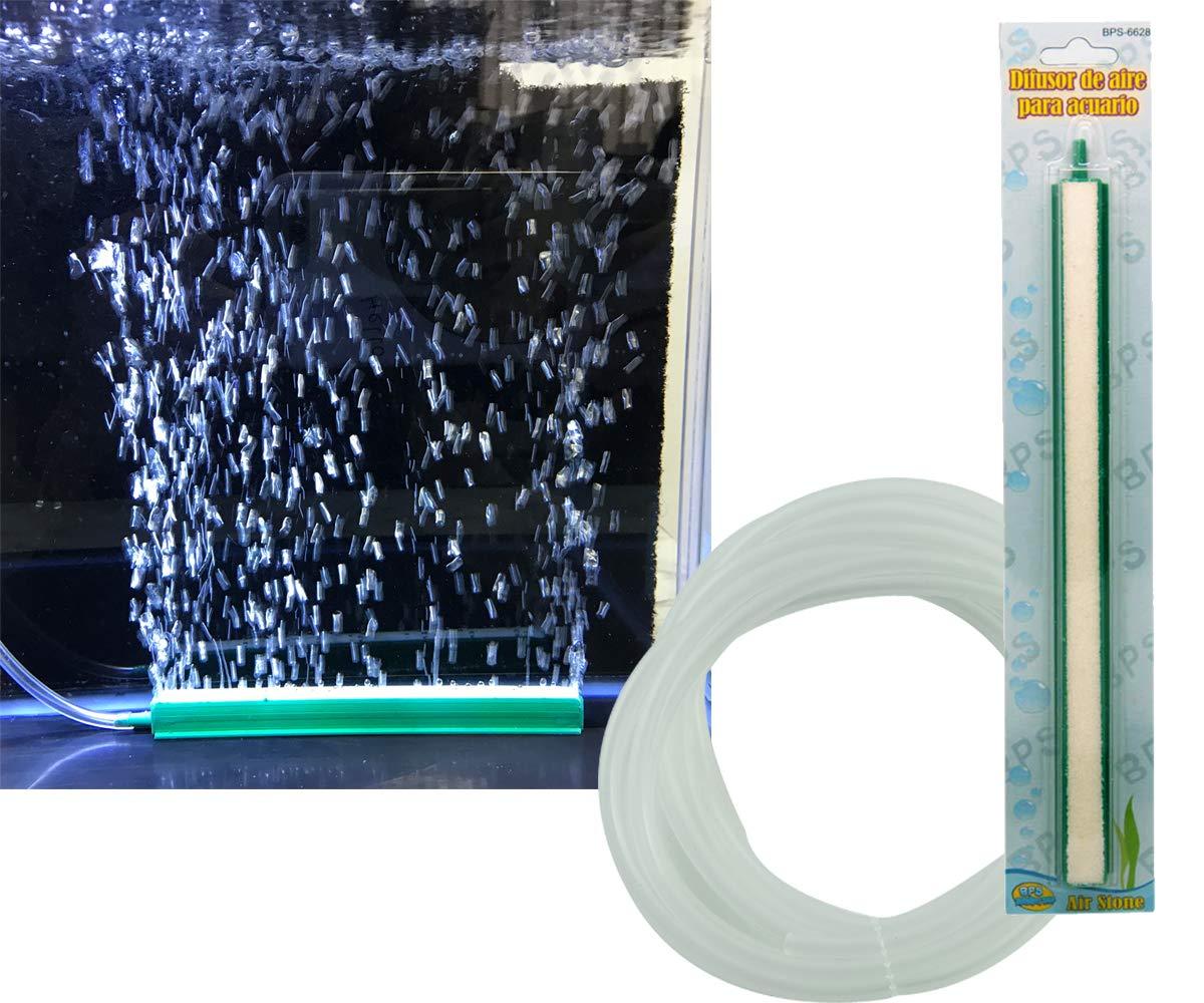BPS Difusor de Aire Burbujas Tubo de Burbujas de Tanque para Acuario Pecera, Bomba de Aire e Hidropónica 20cm BPS-6627: Amazon.es: Productos para mascotas