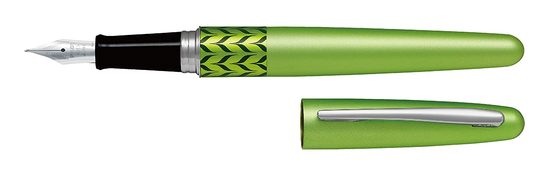 Pilot - Pluma MR Retro Pop - Verde & Marble Ring con Estuche