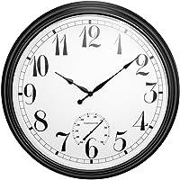 Reloj de Exterior Big Time Negro - 90