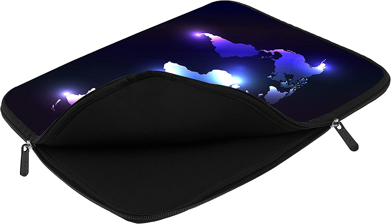 PEDEA Laptop Bag Case Design Sleeve for 17.3 inch Dark World