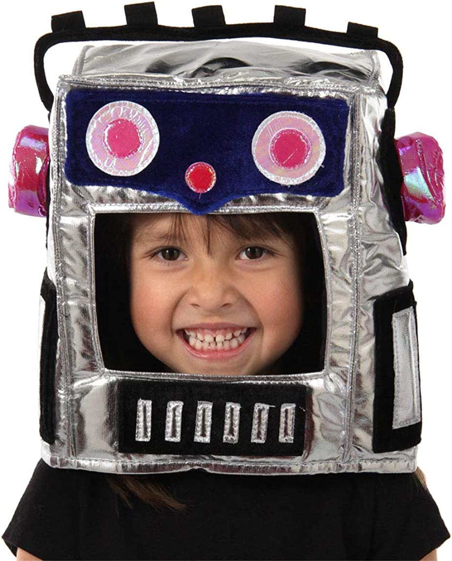 B000ID861E Robot Mask Hat 710NJxl9biL