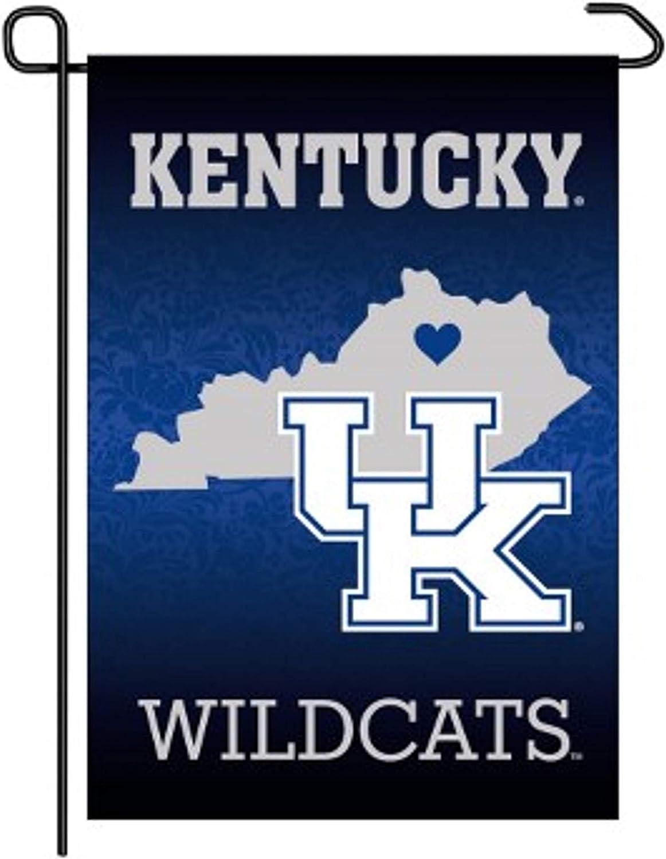 WinCraft Kentucky Wildcats 12 x 18 Premium Home State Garden Flag