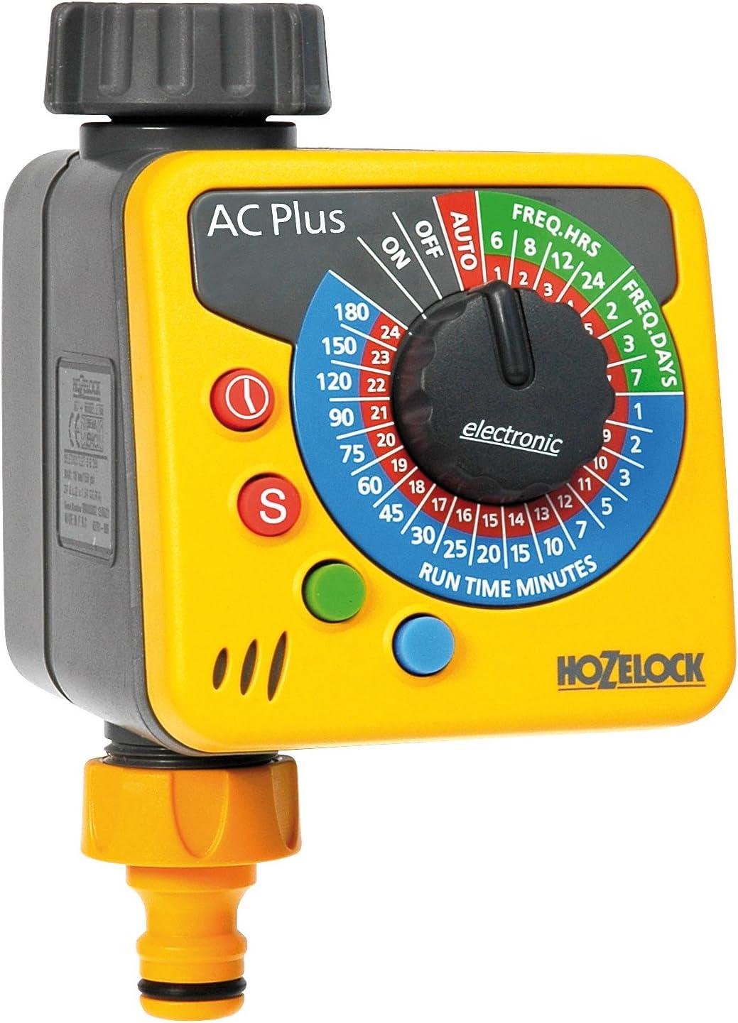Hozelock - Programador de riego electrónico AC Plus de muy fácil programación