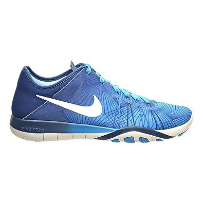 NIKE Free TR 6 Prt Blue Glow/Coastal Blue/White Women's Cross Training Shoes