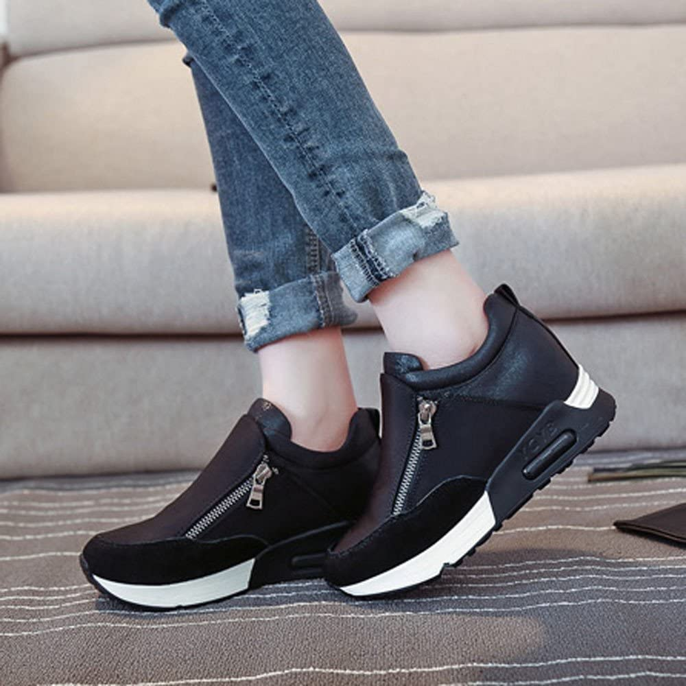 Weant Chaussures Femme Baskets Mode Mixte Adulte Chaussures Femmes ete Baskets Mode Chaussures de Sport Bottes Classiques Femmes en Cours dex/écution randonn/ée /épaisse Plate-Forme