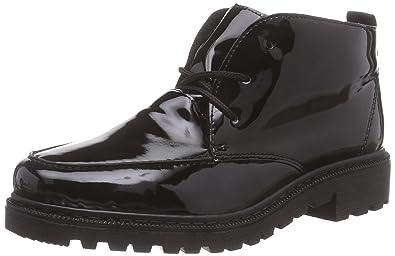 Rieker 76312, Damen Kurzschaft Stiefel, Schwarz (schwarz/schwarz/02), 37 EU (4 Damen UK)