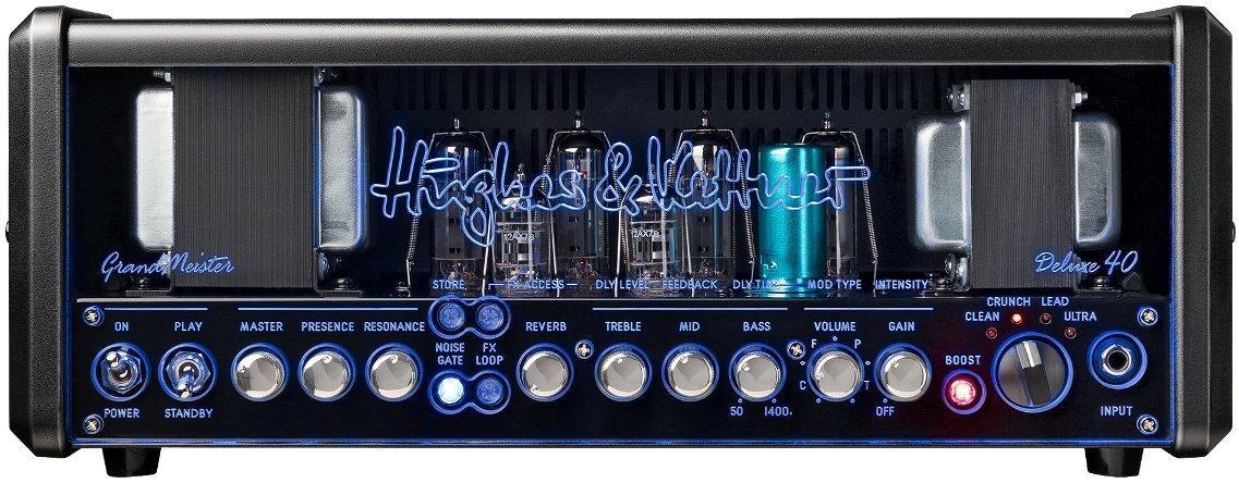 ●日本正規品● Hughes&Kettner HUK-GM40DX/H GRANDMEISTER GRANDMEISTER Deluxe 40 Deluxe Head B01MD24N85 オールチューブギターアンプヘッド B01MD24N85, シオヤグン:39955c34 --- workflow.officeporto.com