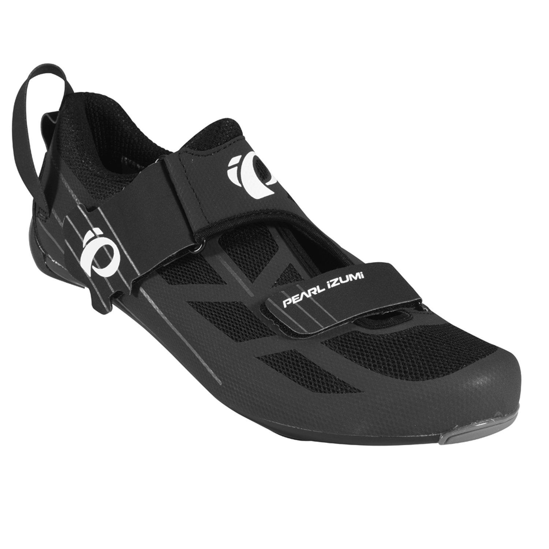 Pearl Izumi Men's Tri Fly Select V6 Cycling Shoe, Black/Shadow Grey, 46 EU/11.5 D US