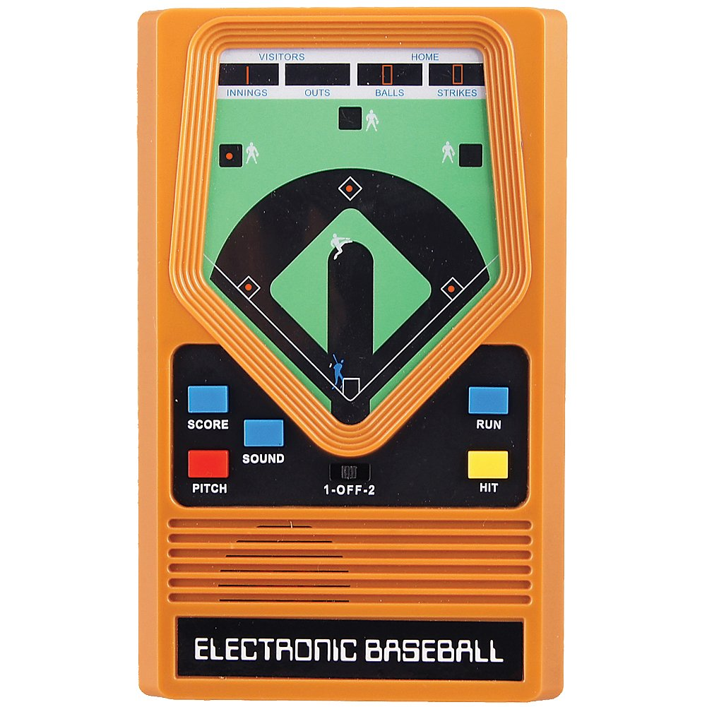 SCHYLLING ASSOCIATES INC Retro 70's Electronic Baseball Hand Held Game With Updated Graphics & Sound by SCHYLLING ASSOCIATES INC (Image #1)