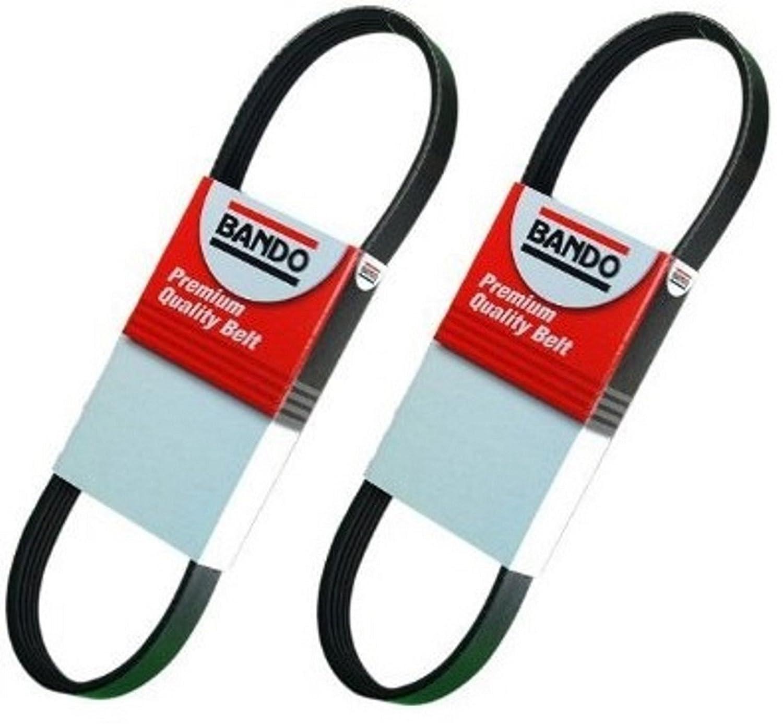 BANDO Infiniti G35(10/02-06) M35 (06-7/06) FX35(03-8/06) QX4(01-03) Nissan 350Z(03-7/06) Nissan Pathfinder(01-04) Alternator-Air Conditioner-Power Steering Belt Set(2 belt set) BANDO 4PK945 6PK1175