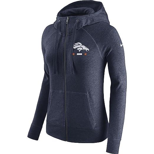 2983d5de Amazon.com: Nike Women's Denver Broncos Full Zip Vintage Gym Hoodie ...