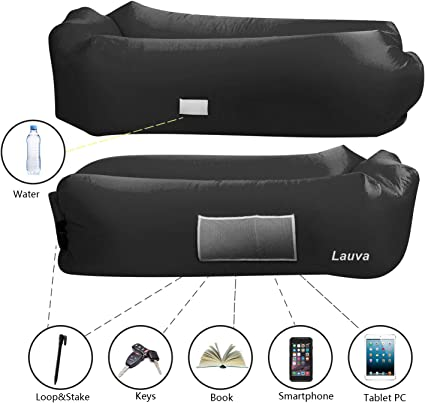 Amazon.com: Lauva Air Sofa, Inflatable Lazy Lounger with ...