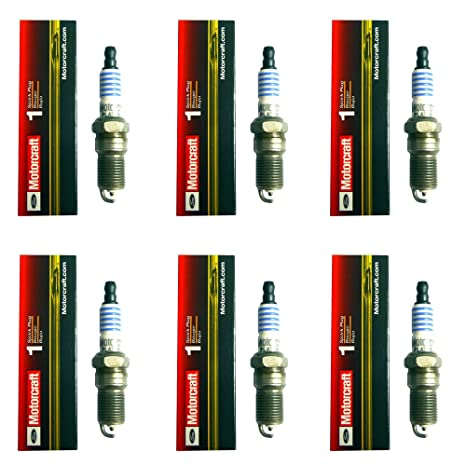 Amazon.com: New Set of 6 Motorcraft SP433 Spark Plugs for Mercury, Ford and Lincoln 1997-2009: Automotive