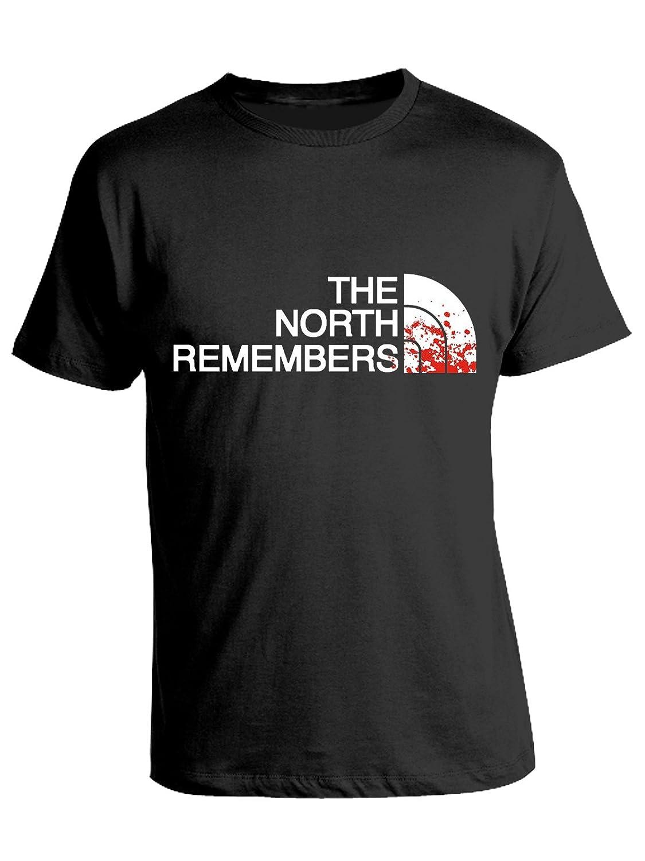 in Cotone Il Trono di Spade Humor Serie TV Game of Thrones bubbleshirt Tshirt The North Remembers