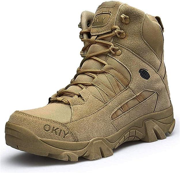 botas militares hombre Wojiao Desierto