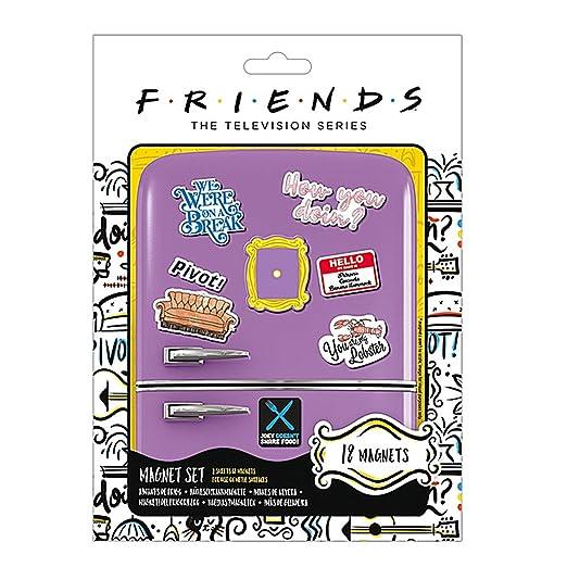 Pritties Accessories Warner Bros Friends TV How You Doin Juego de ...
