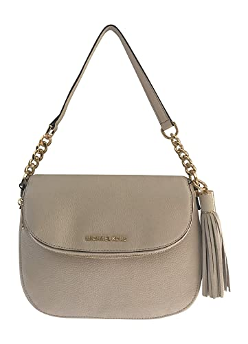 27885ef50146 Michael Kors Bedford Medium Tassle Convertible ECRU Shoulder Bag: Handbags:  Amazon.com