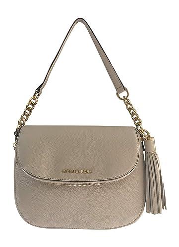 a544f2c140d9 Michael Kors Bedford Medium Tassle Convertible ECRU Shoulder Bag: Handbags:  Amazon.com