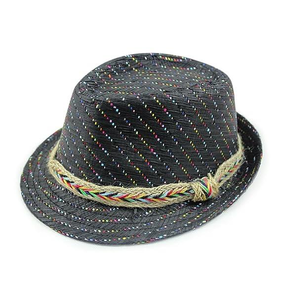 Gumstyle Unisex Summer Beach Trilby Fedora Panama Wide Brim Cap Sun Hat