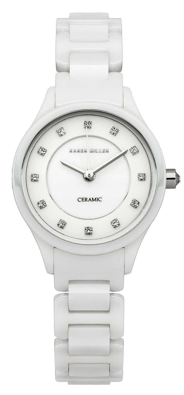 Karen Millen Damen-Armbanduhr Analog Quarz KM132WC