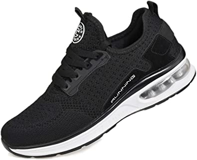 Zapatilla de Deporte con amortiguación de Aire para Calzado Deportivo Transpirable para Caminar para Hombres y Mujeres para Trotar Entrenamiento Deportivo en el Gimnasio: Amazon.es: Zapatos y complementos