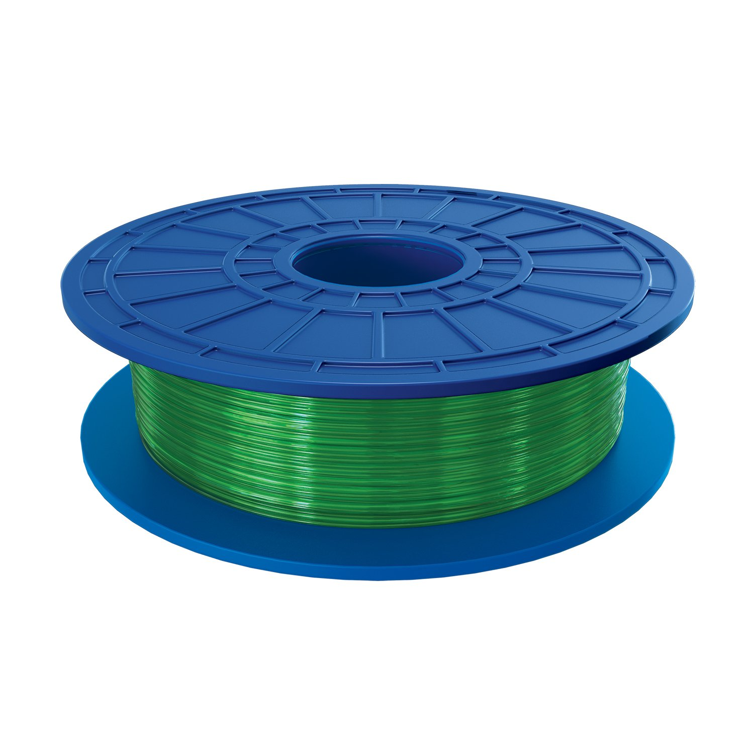 Dremel PLA 3D Printer Filament, 1.75 mm Diameter, 0.5 kg Spool Weight, Green