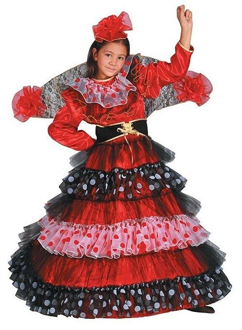 Dress up America Disfraz de bailarina de flamenco: Amazon.es ...